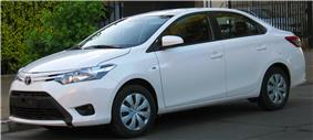 2014 Toyota Yaris 1.5 XLi in Chile.jpg