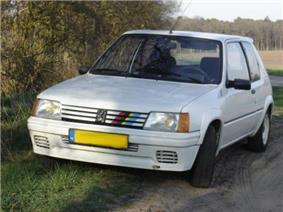 Peugeot 205 Rallye.