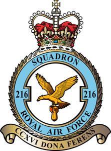 216 Squadron badge