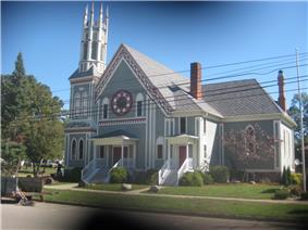 Main Street Building, United Church of Ovid