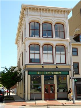 Building at 239 North Gay Street