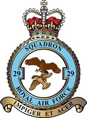29 Squadron badge