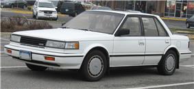 Second generation Nissan Maxima.