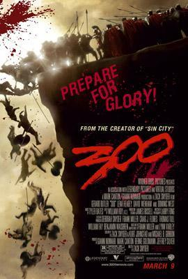 Theatrical release poster of 300