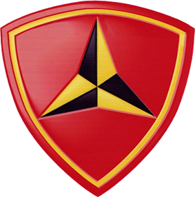 Logo of the US 3rd Marine Division