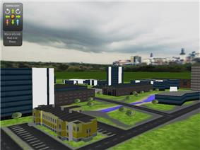 3DMLW City Example Screenshot