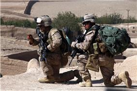 Marines from 3/5 India Company in Sangin in October 2010.