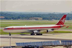 4R-ADB A340-311 Air Lanka FRA 30AUG99 (5917138430).jpg