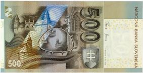 500 korún reverse