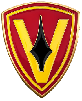 Logo of the US 5th Marine Division