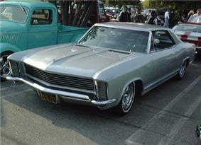 Mildly customized 1965 Buick Riviera.