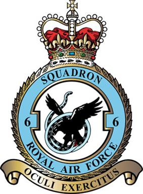 No. 6 Squadron badge