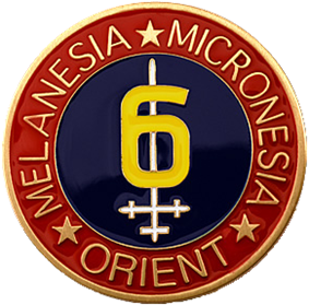 Logo of the 6th Marine Division