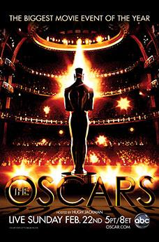 Official promoting the 81st Academy Awards in 2009.
