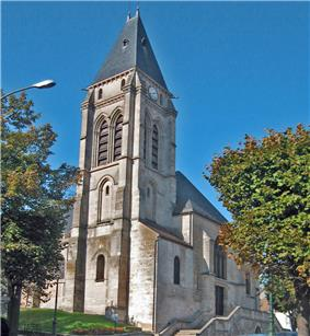The church Saint-Leu