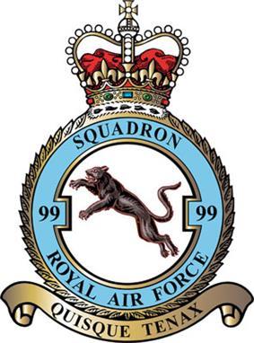 99 Squadron badge