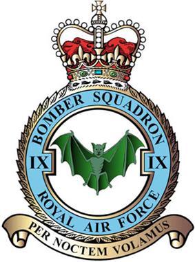 9 Squadron badge