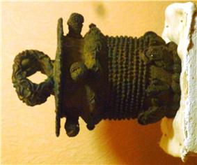 9th century bronze ceremonial pot, Igbo-Ukwu, Nigeria.JPG