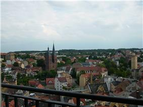 Altenburg: City centre with the Red Spires
