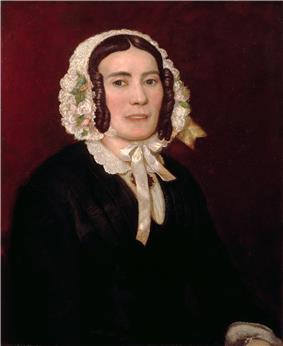 Portrait painting of Abigail Fillmore