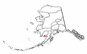 Location of Dillingham, Alaska