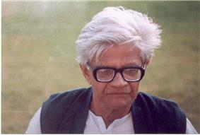Amal Kumar Raychaudhuri at IUCAA, Pune, in 1991