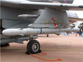ALARM under the wing of a RAF Tornado GR4