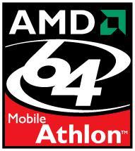 Athlon 64 Mobile logo as of 2003