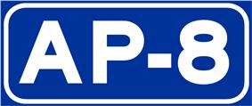 Autopista AP-8 shield