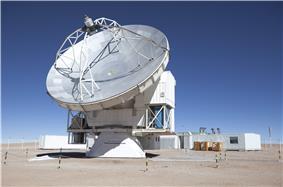 Large parabolic-dish telescope