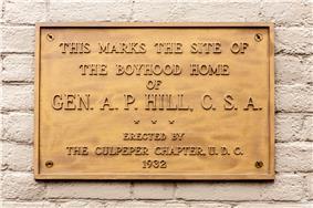 A. P. Hill Boyhood Home