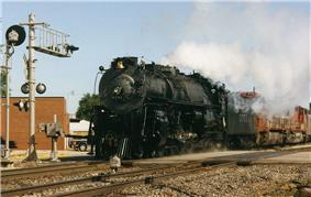 Atchison, Topeka, and Santa Fe Railway Steam Locomotive No. 3751