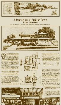 A Home in a Prairie Town – Ladies Home Journal, Feb 1901