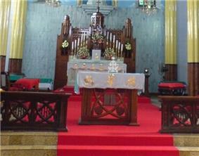 Christ the King Knanaya Catholic Cathedral, Kottayam