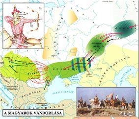 A magyarok vandorlasa