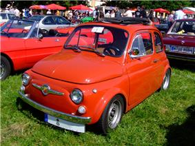 1973 Fiat 500 Abarth.