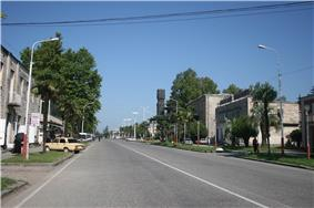 Abasha's main street
