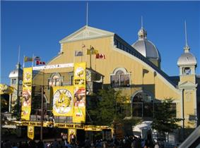 Image of the Aberdeen Pavilion during the Ottawa Exhibition in 2004
