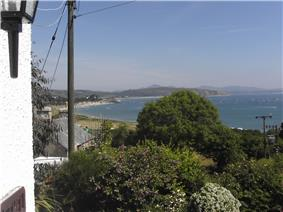 View of Abersoch Bay from Machroes