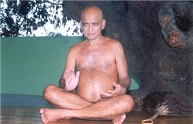 Digambara Jain monk