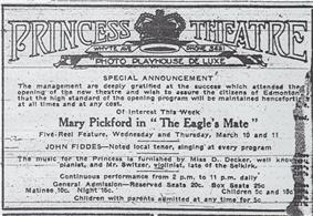 The second ad placed by the Princess on March 9, 1915