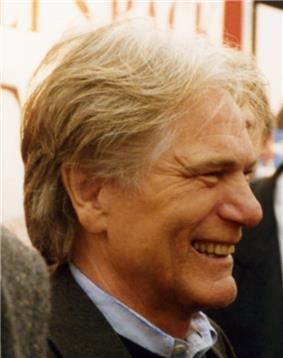 Middle-aged man with greying, blond hair