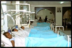 Patients at the Addis Ababa Fistula Hospital