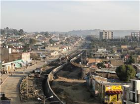 View of Adigrat