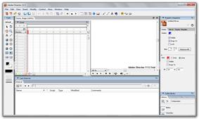 Adobe Director Screenshot