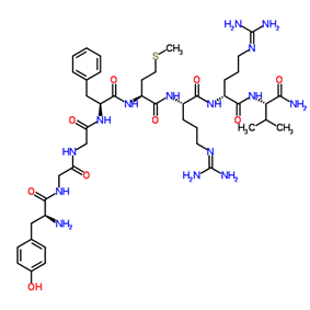 Chemical structure of Adrenorphin