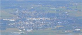 Aerial view of Tillamook