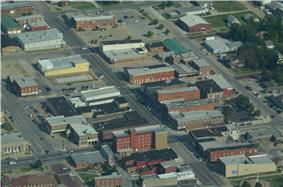 Aerial view of Chanute (2013)
