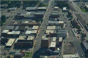 Aerial view of Abilene
