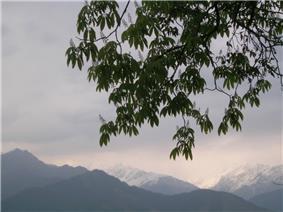 Himalyan view from Pithoragarh